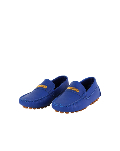 Picture of BLUE LOGO LOAFERS