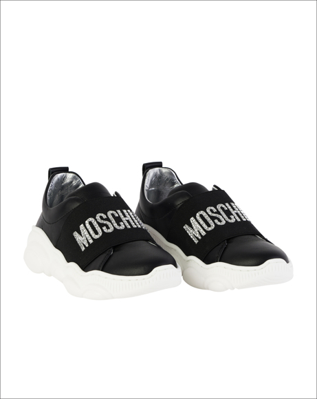 Picture of MOSCHINO TEDDY SHOES SLIP ON WITH LOGO