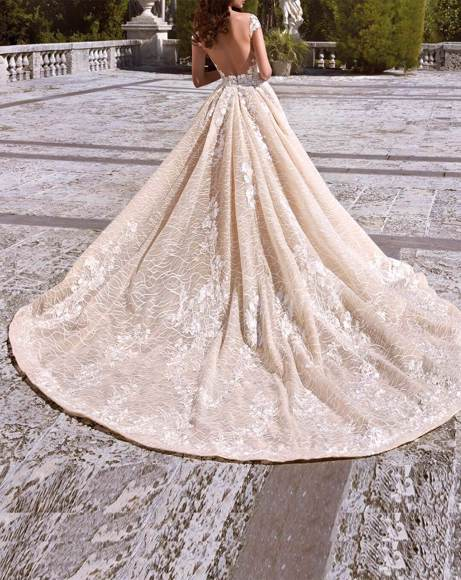 Picture of LACE EMBELLISHED WEDDING DRESS