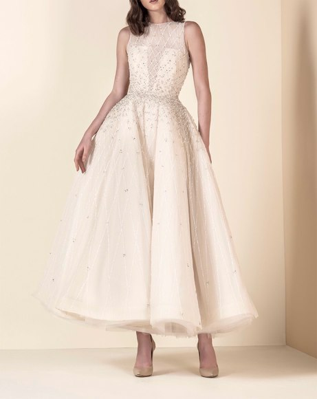 Picture of IVORY CREAM WEDDING DRESS