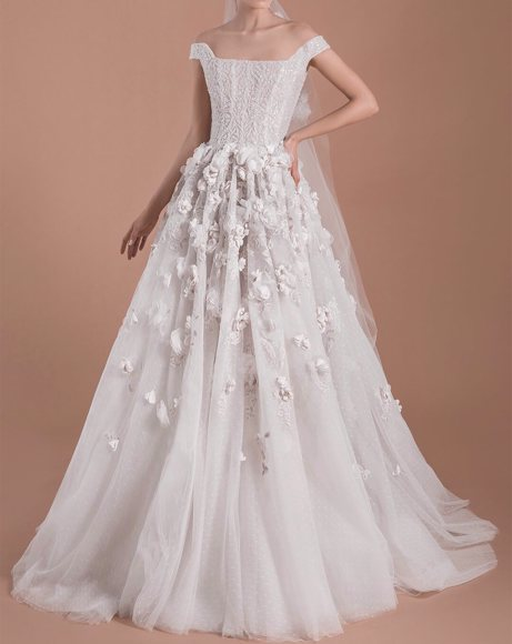 Picture of OFFWHITE WEDDING DRESS