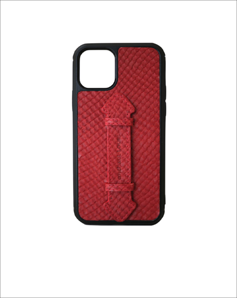 Picture of RED SNAKE IPHONE 11 PRO STRAP CASE