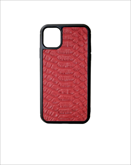 Picture of RED PYTHON IPHONE 11 CASE