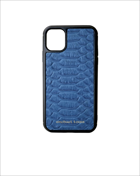 Picture of BLUE PYTHON IPHONE 11 CASE