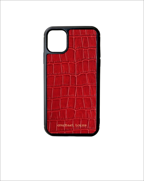 Picture of RED CROC IPHONE 11 CASE