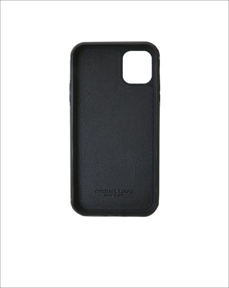 Picture of MATTE BLACK CROC IPHONE 11 CASE