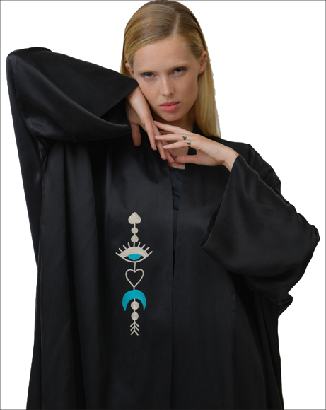 Picture of EMBROIDERY DESIGN ABAYA