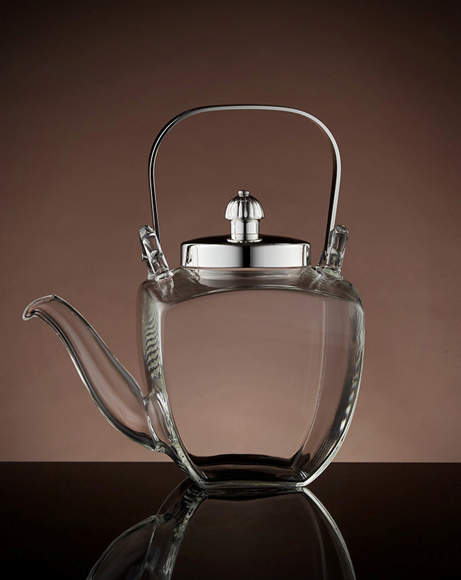 Picture of FRENCH TEAPOT IN SILVER SHINY