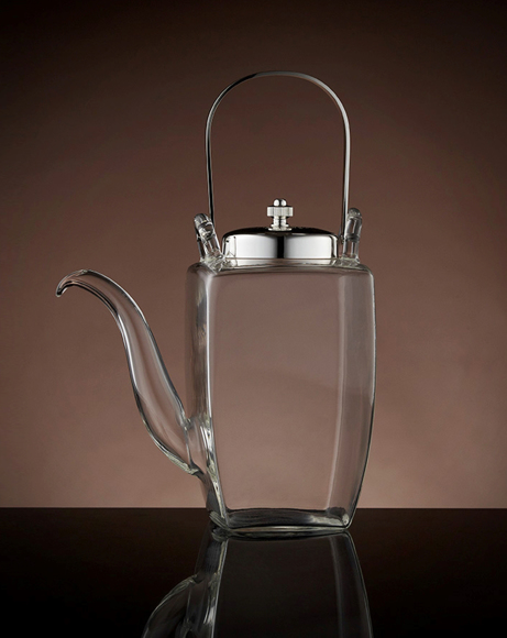 Picture of LYRIC TEAPOT SILVER 450 ML