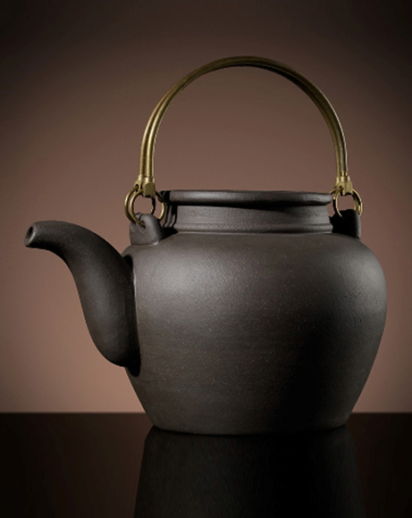 Picture of YIXING TEAPOT IN BROWN 1.2L