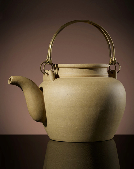 Picture of YIXING TEAPOT IN YELLOW 1.2L