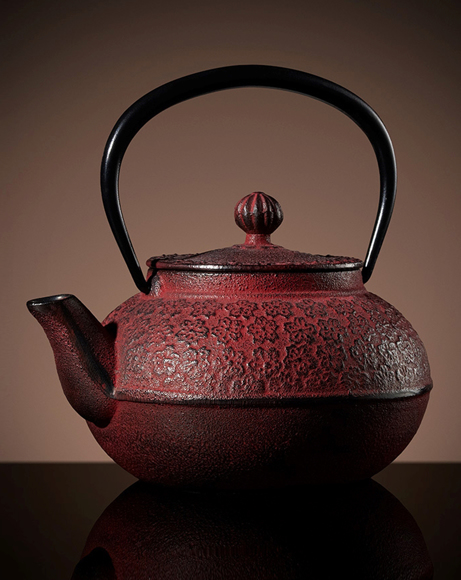 Picture of HANAMI TEAPOT IN RED 500 ML