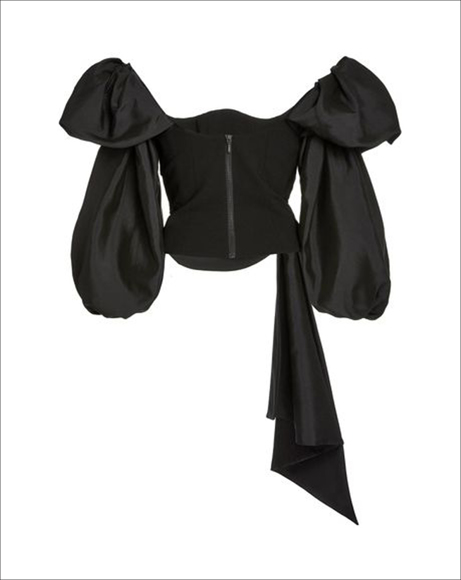 Picture of GINNY TOP - BLACK