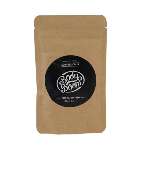 Picture of BODY BOOM FOR ALPHA MEN COFFEE SCRUB