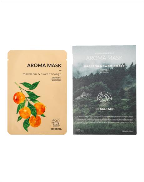 Picture of AROMA MASK MANDARIN & SWEET ORANGE