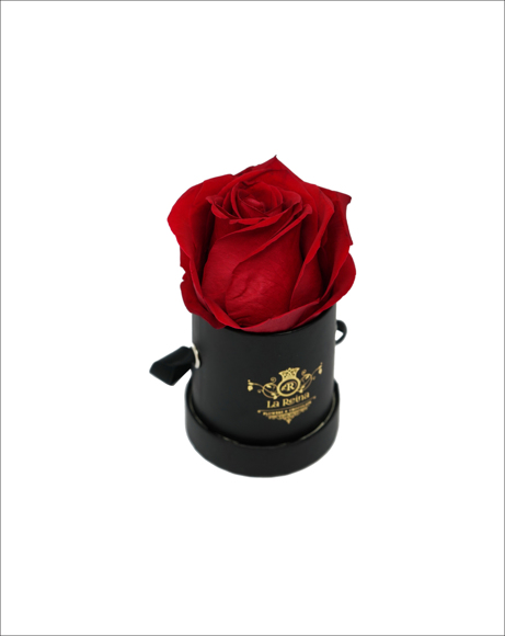 Picture of BLACK MINI BOX WITH ROSE