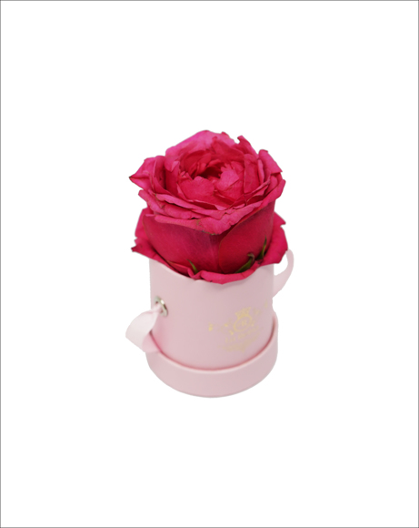 Picture of PINK MINI BOX WITH ROSE