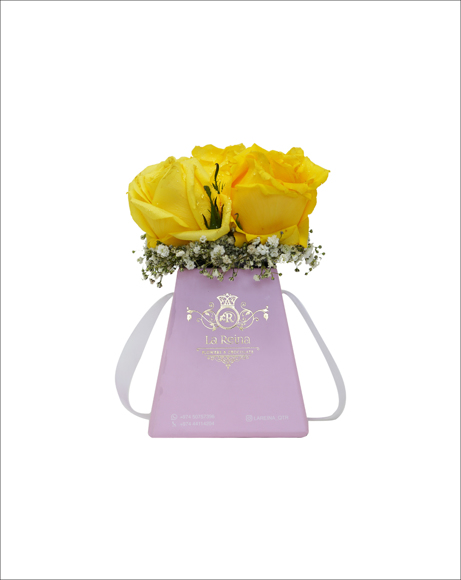 Picture of YELLOW ROSES WITH CHOCOLATES