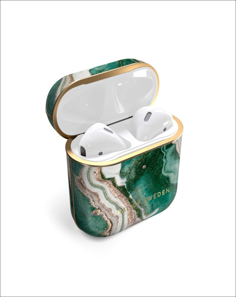 Picture of AIRPODS CASE - AIR GOLDEN JADE MARBLE