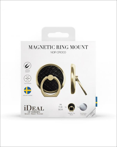 Picture of NOIR CROCO RING MOUNT
