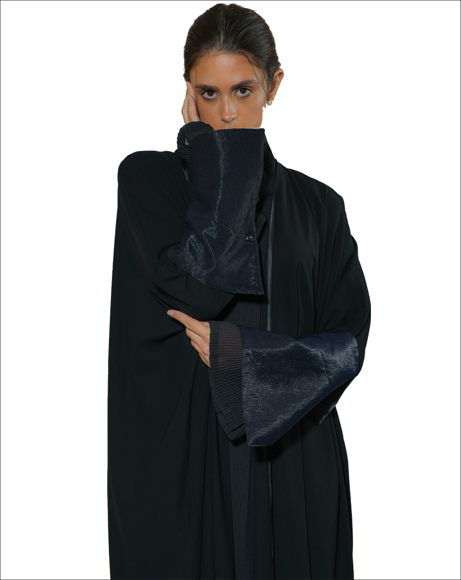 Picture of SILK FULLY PLEATED ABAYA