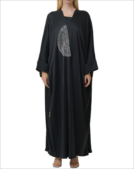 Picture of CIRCULAR EMBROIDERY ABAYA