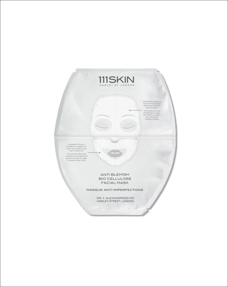 Picture of ANTI BLEMISH BIO CELLULOSE FACIAL MASK - SINGLE PACK