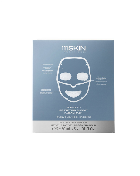 Picture of SUB-ZERO DE-PUFFING ENERGY FACIAL MASK
