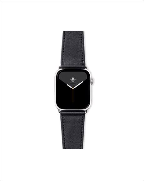 Picture of GUILTY BLACK APPLE WATCH STRAP - 44MM