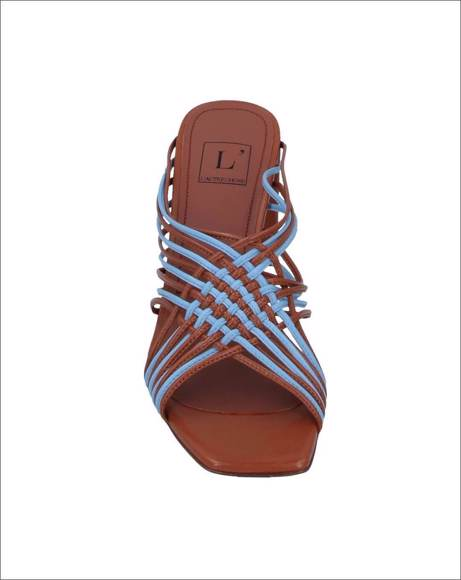 Picture of SKY/BROWN SANDALS