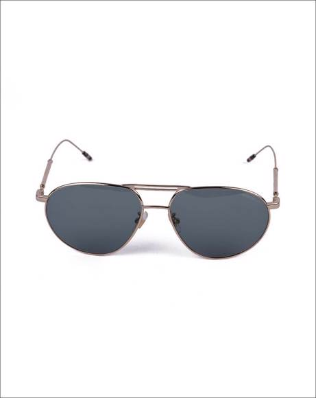 Picture of POLISHED AVIATOR-FRAME SUNGLASSES