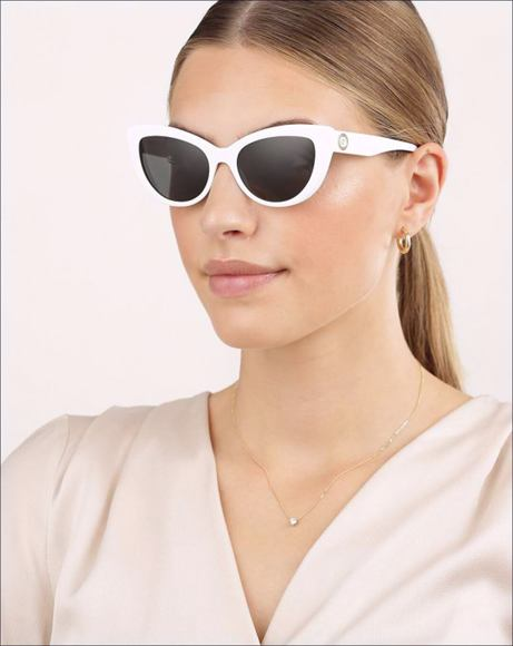 Picture of WOMAN SUNGLASSES ROCK ICONS WHITE