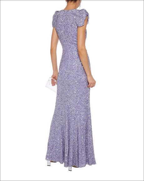 Picture of TWISTED EMBELLISHED CHIFFON GOWN