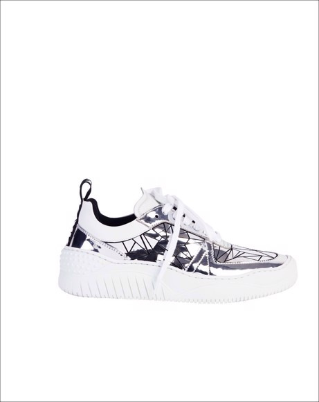 Picture of MOSAIC SILVER SNEAKER