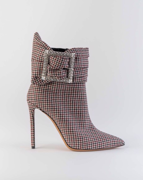 Picture of HOUNDSTOOTH ANKEL BOOTS