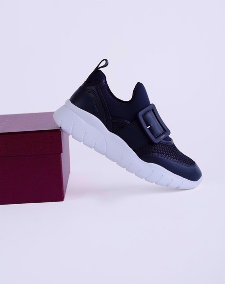 Picture of BRINELLE SNEAKER IN BLACK