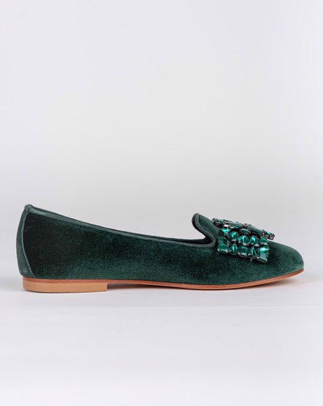 Picture of GREEN BALLERINA SHOE