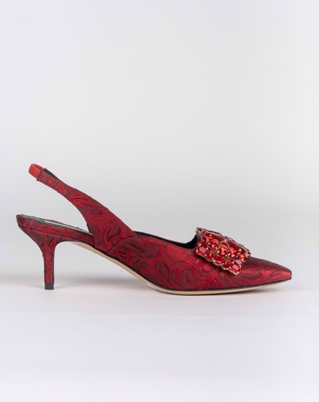 Picture of EGLE ROSSO LEATHER SLINGBACK