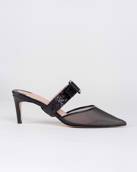 Picture of POINTED TOE FRANCESCA BLACK