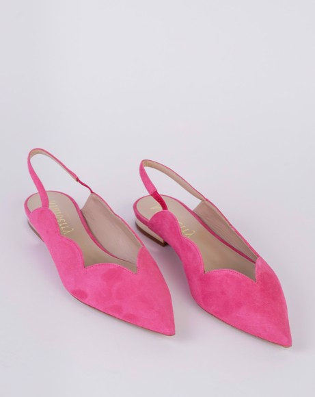 Picture of KATE SCALLOP SLINGBACK FLATS