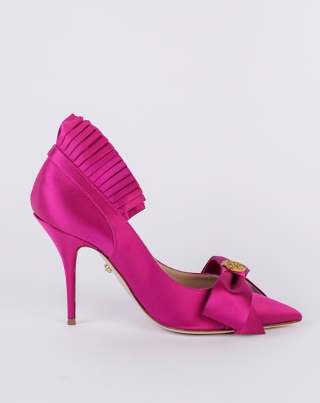 Picture of BOW PUMPS IN FUXIA
