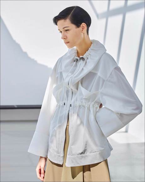 Picture of CONNIE DRAWSTRING BLOUSON
