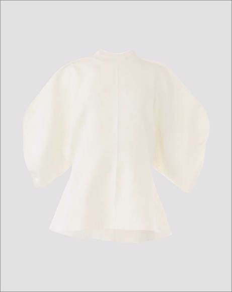 Picture of MAISIE OUT SEAM KNIT PULLOVER SWEATER WHITE