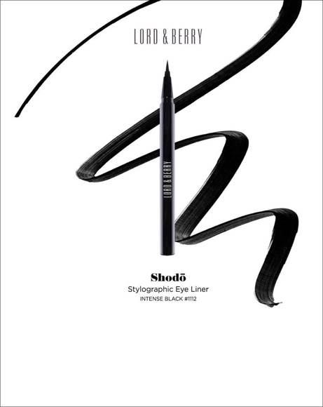 Picture of SHODO EYELINER INTENSE BLACK 0.55ML