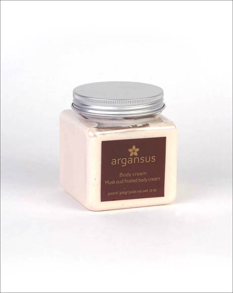 Picture of MUSK OUD FROSTED BODY CREAM - 300ML