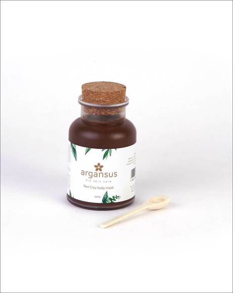 Picture of RED CLAY BODY MASK