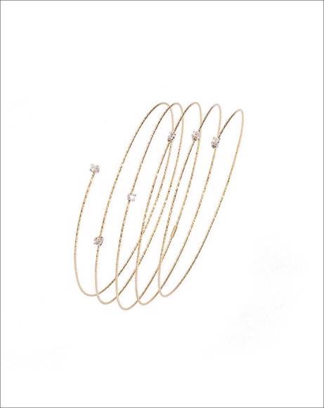 Picture of STARDUST COLORLESS TOPAZ BRACELET