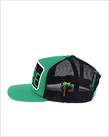 Picture of GREEN / BLACK CAP