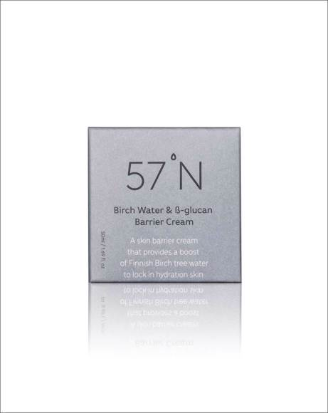 Picture of 57'N - BIRCH WATER AND BETA-GLUCAN BARRIER CREAM
