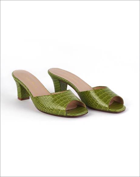 Picture of GREEN MULES